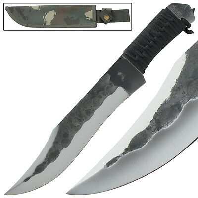 Jungle Warfare Full Tang Hunting Hand Forged Fixed Blade Knife