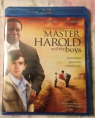 Master Harold And The Boys (Ving Rhames, Freddie Highmore) *New Blu-Ray* - 2011