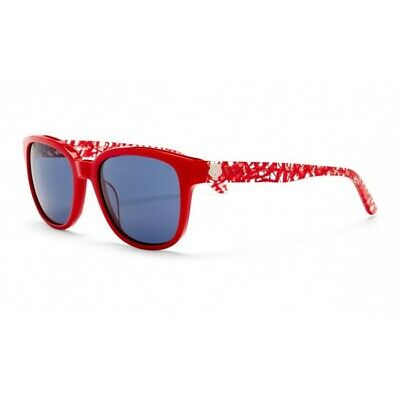 0e349b8c2b New Authentic KENZO Sunglasses KZ3211 C02 Red with Logo Made in France
