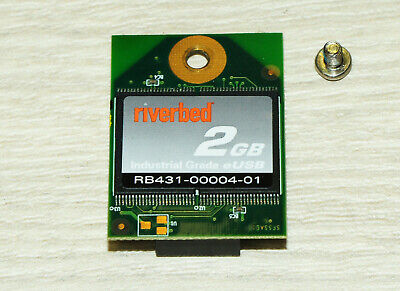 Riverbed 2GB RB431-00004-01 9-Pin Embeded Flash Drive 1YrWty TaxInv