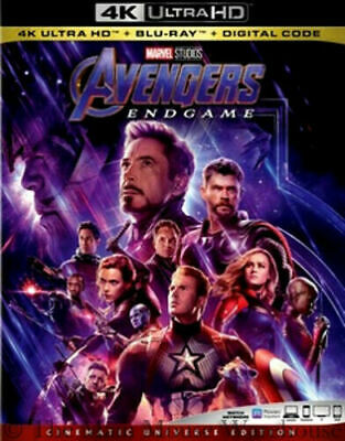 Marvel Avengers Endgame 4K (4K ONLY 2019) Case+Artwork+Slipcover SHIPS NOW