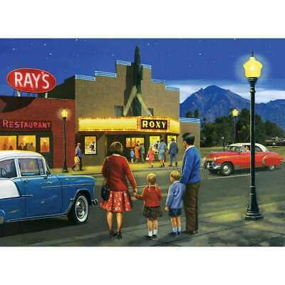 """Paint By Number Kit 15.375""""X11.25"""" A Night At The Movies 090672943507"""