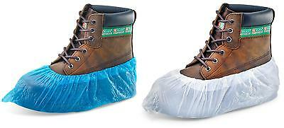 2000 Disposable Overshoe Shoe Covers (1000 Pairs) - 16 inch - Various Colours