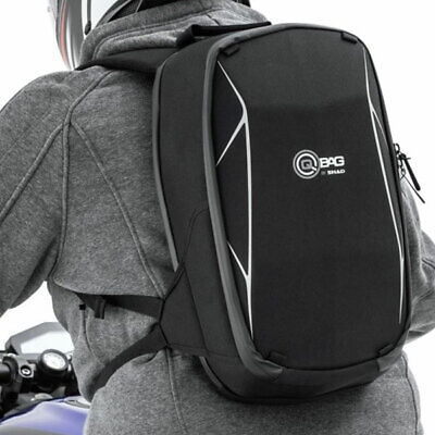 QBag Motorbike Motorcycle Touring Adventure Sports Luggage Backpack 14 - Black