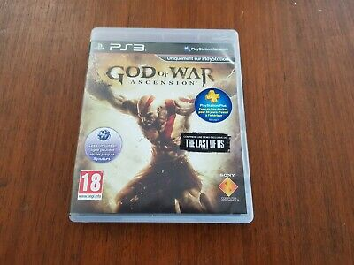 Jeu PS3 GOD OF WAR Ascension Jeu complet comme neuf Console PlayStation 3
