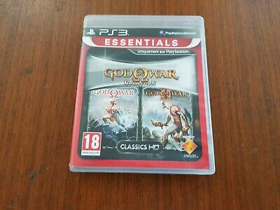 Jeu PS3 GOD OF WAR Collection N Jeu complet comme neuf Console PlayStation 3