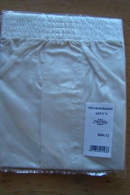 """Nr.22 Arty`s Couture Coll. Boxershorts Shorts Slip Gr. """"S"""" 100% Seide  Anmalen"""
