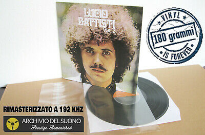 LUCIO BATTISTI Vol. 2 (1970) Vinyl LP 2019 - 24 bit/192 KHz 180 gr