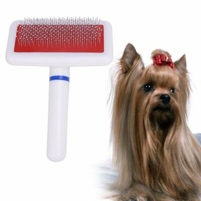 Dog Needle Comb for Dogs Cat Gilling Brush Dog Rake Comb Massage Grooming NR7