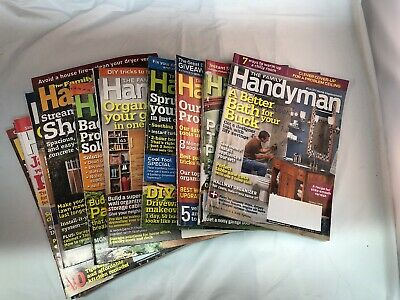 Family Handyman Magazines Back Issues Lot of 16 Years 2008 2009 Home Improvement