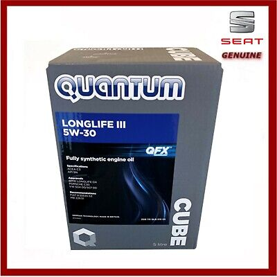 Quantum Longlife 3 5W-30 Fully Synthetic Engine Oil 5 Litres