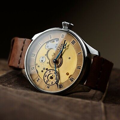 Omega mens vintage watch antiques wristwatches swiss movement exclusive watch