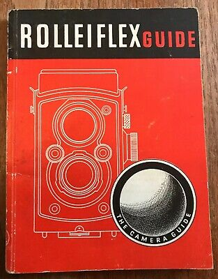 Vintage ROLLEIFLEX Camera Guide Book, 5th Edition c1944, The Focal Press