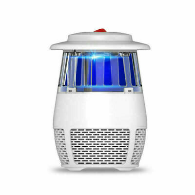 Electronic Insect Mosquito Killer LED UV Light Suction Grill Fly Bug Zapper Trap