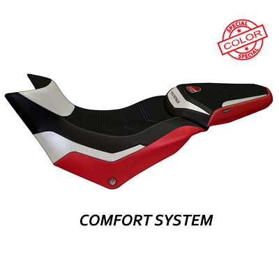 Ducati Multistrada 950 Comfort Seat Cover Harrow Special 2017+ - Red