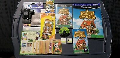 Animal Crossing Nintendo Game Cube E-reader System Memory Cards Strategy Guide