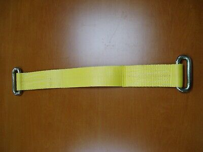 Wheel lashing strap, for ratchet straps, vehicle recovery / transportation