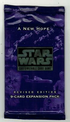 STAR WARS - A New Hope - Revised Edition Booster - 9 cards Exp Set - ENG Sealed