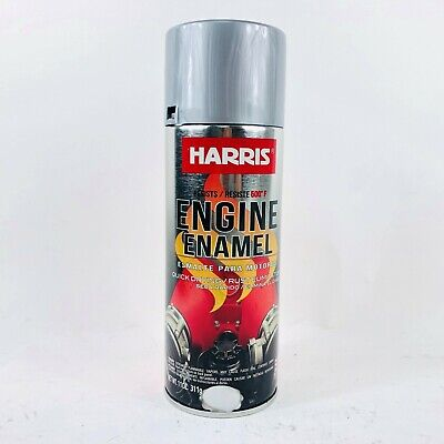 Harris 38084 Hi-Temp Aluminum Paint 11 Oz. Quick Drying Rust Eliminator