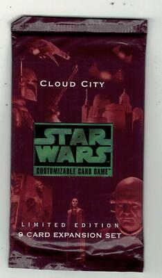 STAR WARS - Cloud City - Limited Edition Booster 9-card Exp Set - ENG Sealed