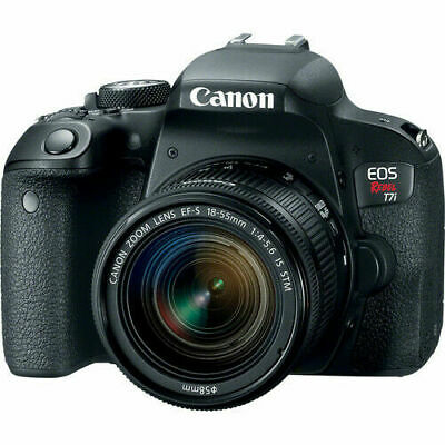 Canon EOS Rebel T7i w/ 18-55mm IS STM Digital SLR Camera Kit NEW!