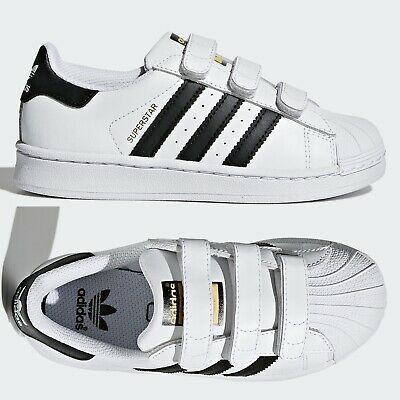 adidas Superstar Foundation CF Kids Trainers Boys Girls White SIZE 11.5 Infant