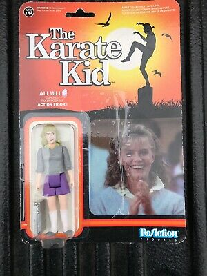 Karate Kid  Ali Mills  3 3/4 Inch Action Figure  Super 7  Open Package