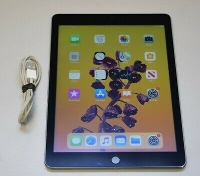 Apple iPad Air 2nd Generation A1566 64GB, Wi-Fi, 9.7in - Space Gray