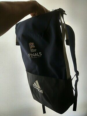 RARE NEW OFFICIAL Adidas Backpack - UEFA Nations League FINALS 2019 PORTUGAL