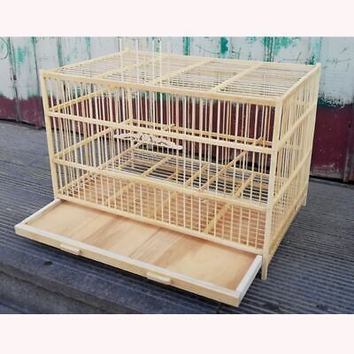 Super Large Bamboo Bird Cage Top Quality 50cm Handmade Breathable Birds Nest New