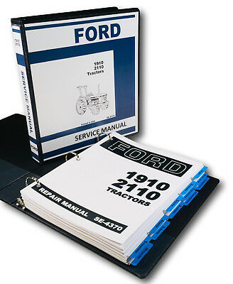 FO44 WORKSHOP MANUAL Ford 1300 1700 1900 Tractor & 1210 1310