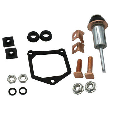 New Starter Repair Rebuild Kit Solenoid Contact Set Plunger For Toyota