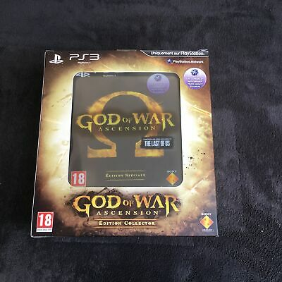 PS3 God Of War Ascension Edition Collector FRA Excellent état