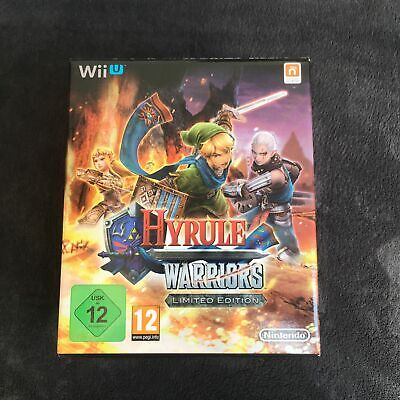 Nintendo Wii U Hyrule Warriors Limited Edition EUR Quasi neuf