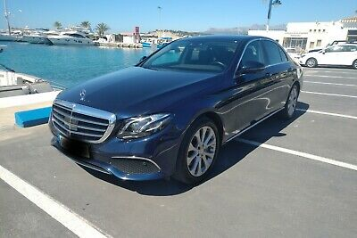 2016 Mercedes E350d left hand drive in spain LHD Spanish registered