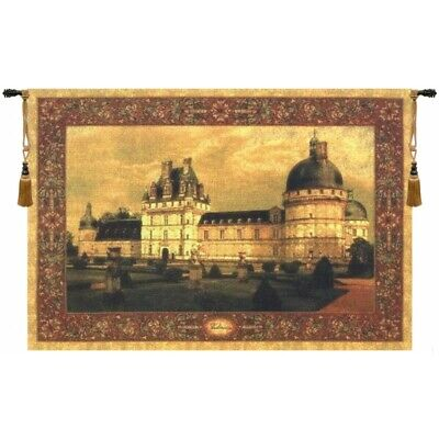 Chateau Valencay I French Castle Palace Medieval European Tapestry Wall Art