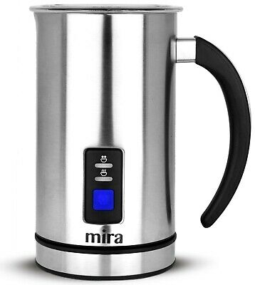 MIRA Automatic Electric Milk Frother, Warmer & Heater, Perfect Foam for Coffee