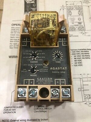AGASTAT - TE CONNECTIVITY  SSFR90X  Time Delay Relay