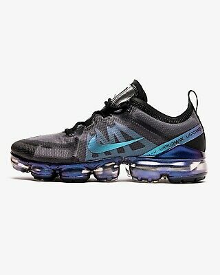 Mens Nike Air Vapormax 2019 Sneakers Black Anthracite Fuchsia Trainers AR6631 13
