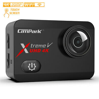 Campark X30 4K Action Camera 20MP Touchscreen HD Sports 40m Waterproof Camcorder