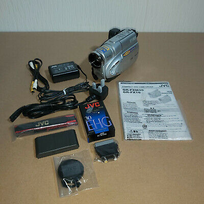 JVC Compact VHS VHS-C GR-FXM40EK Camcorder Boxed With Sealed Accessories Working