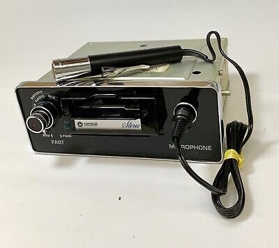 1971 1972 Chrysler 8 Track Tape RECORDER  Player 3501045 W/Microphone NOS in Box