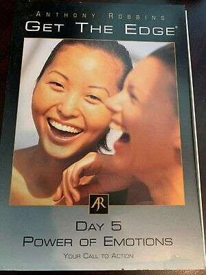 Anthony Robbins Get The Edge Day 5 Power of Emotions Call to Action DVD