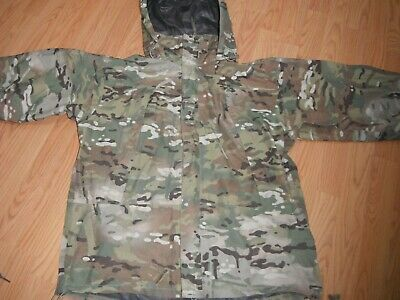 Real Us Army Multicam Camo Wet Weather Rain Jacket Outer Shell Small Reg Gen Iii