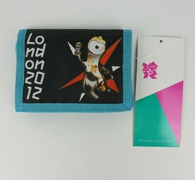 Official London 2012 Olympic Games Childrens Wallet Collectible - New with Tags