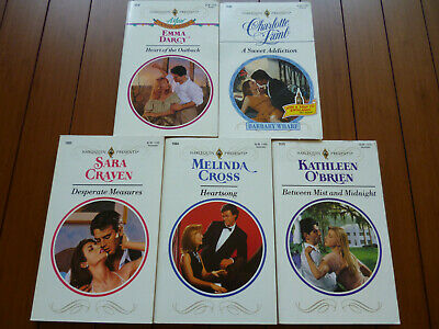 LOT OF 15 Harlequin Presents 1782 to 1919 EMMA DARCY Ann