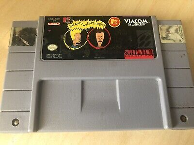 beavis and butthead game snes