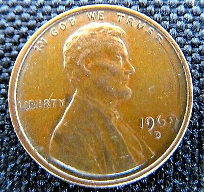1969-D LINCOLN CENT Penny  DOUBLE DIE