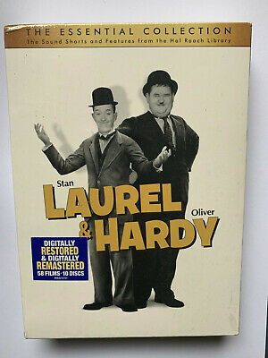 Laurel  Hardy Essential Collection (DVD, 2011, 10-Disc Set)