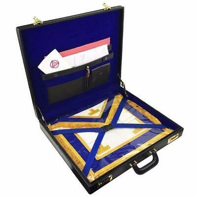 Masonic Regalia Mason Provincial apron Hard Case/Briefcase in Imitation Leather